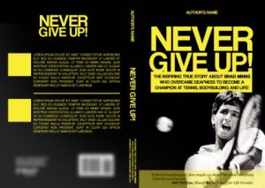 Never Give Up Book