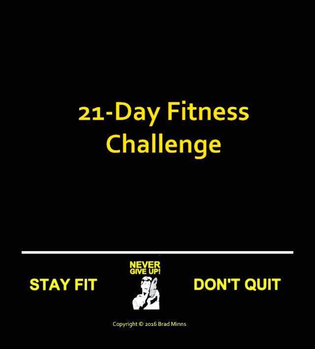 21 fitness challenge